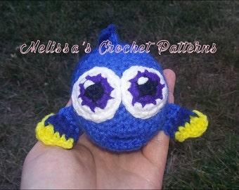 Crochet Pattern - Baby Dory