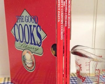 The Good Cooks Library Cookbook Cookery Collection 4 book set - 1990s