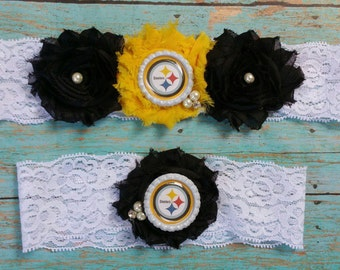 Steelers Garter Set