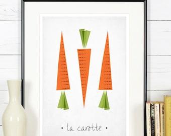 Articles similaires art poster vintage cuisine retro for Affiche decoration cuisine