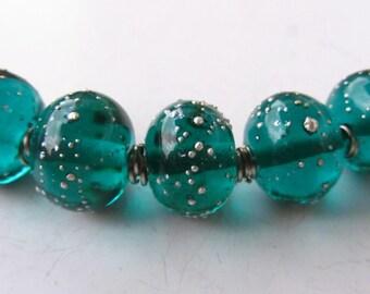 Aquagreen silver ball