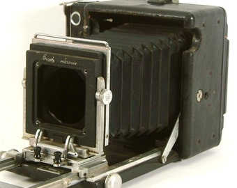 Vintage Busch Pressman 2x3 Folding Camera Large Format or Medium Format Camera (C1045)