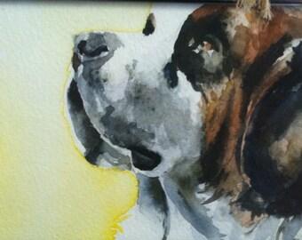Custom Watercolor Portrait