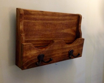 Mail rack. Key rack, leash holder, organizer