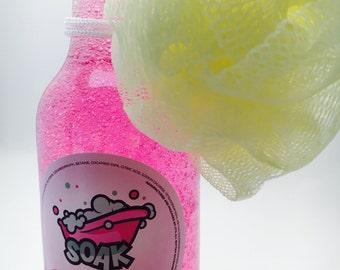Super Sudsy Cotton Candy Bubble Bath