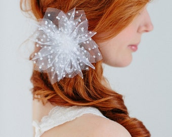 "Bridal  flower headpiece - ""Mila"""