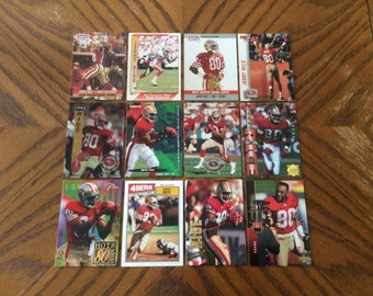 12 Jerry Rice Cards