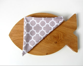 Napkins cloth napkins Napkins-Set of TWO table coasters coasterstable mats 2pieces Geometric