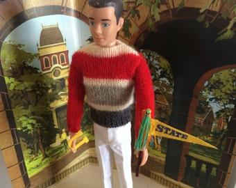 Barbie ken Doll Outfit Campus Hero 770 (1961 - 1963)