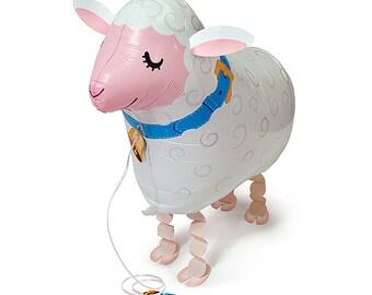 "21"" Sheep My Own Pet balloon farm party decoration"