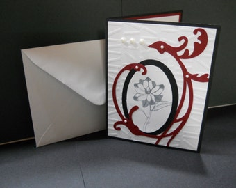 Greeting card for any occasion with envelope