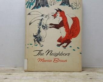 The Neighbors, 1967, Marcia Brown, vintage kids book