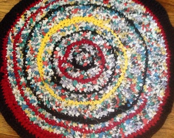 Crochet Rag Rug   Etsy