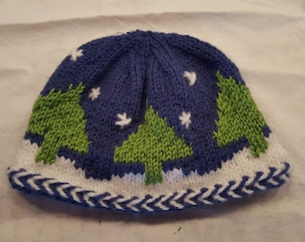 Winter Snow  Hat - Teen / Small Adult