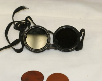 Vintage Hardy Welding Goggles in the Box