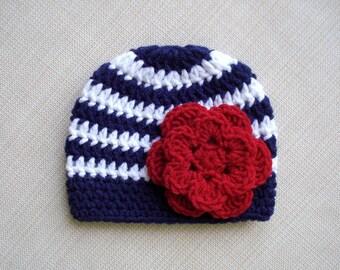 Crochet baby hat, Girl Newborn hat, Baby girl hat, Newborn girl hat, Newborn baby girl Photo prop hat, Newborn beanie, New born Photography