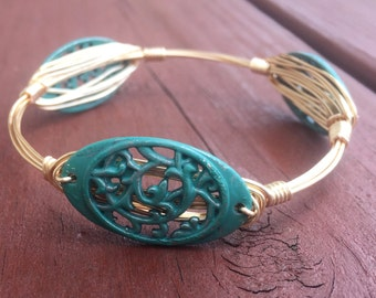 Lovely Lace Wire Bangle