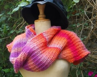Scarf point Capucine ideal fantasy for ride in town