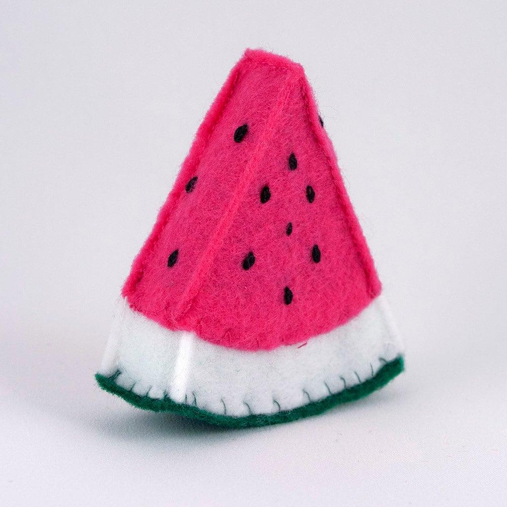 Felt Food Toys R Us : Play food felt watermelon toy kitchen