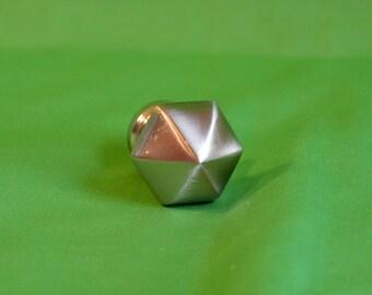 Magnet, Refrigerator Magnet, Steampunk Magnet, Chrome Industrial Magnet