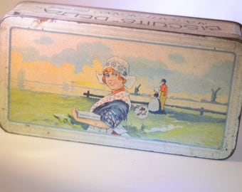 French Vintage Biscuit Tin