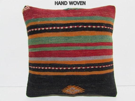 kilim pillow case ottoman southwestern by DECOLICKILIMPILLOWS