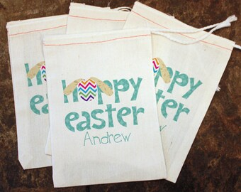 Easter party favors etsy easter party favors kids easter bags easter egg hunt gift hoppy easter candy negle Images