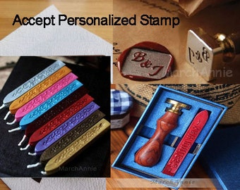 Personalized Wax Seal Stamp - Your letter stamp - Wedding gift - alphabet wax stamp