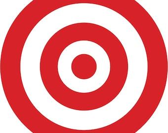 Potty Training Bullseye Decal