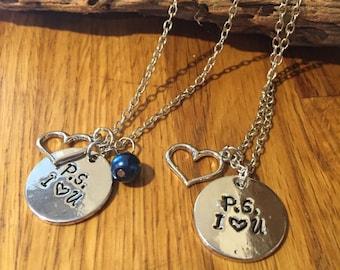 P.S. I (heart) U....Necklace