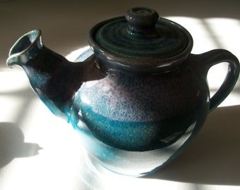John Garrou Old Fort North Carolina Hand Made Tea Pot
