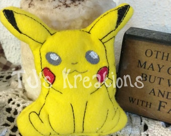 A Cute Stuffed Pikachu Pokeman