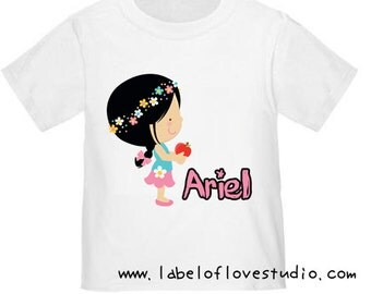 Sweet Little Girl Romper/Tee
