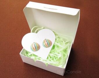 Small White Box, Jewelry Box, Wedding Favor Box, Gift Box, Soap Box - Set of 20