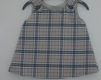 Pinafore dress - Age 0-3mths