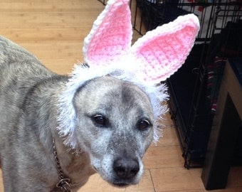 Rabbit Ears Costume for Dogs