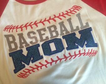 Baseball Mom T-Shirt - SALE