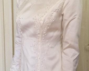 Vintage 1960's Bianchii Wedding Dress