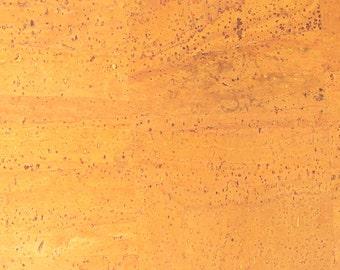 Natural Cork Fabric - Yellow
