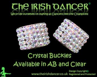 Crystal Shoe Buckles suitable for Irish Dance/Dancing