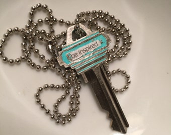 "Be Inspired ""Truth Key"" Necklace"