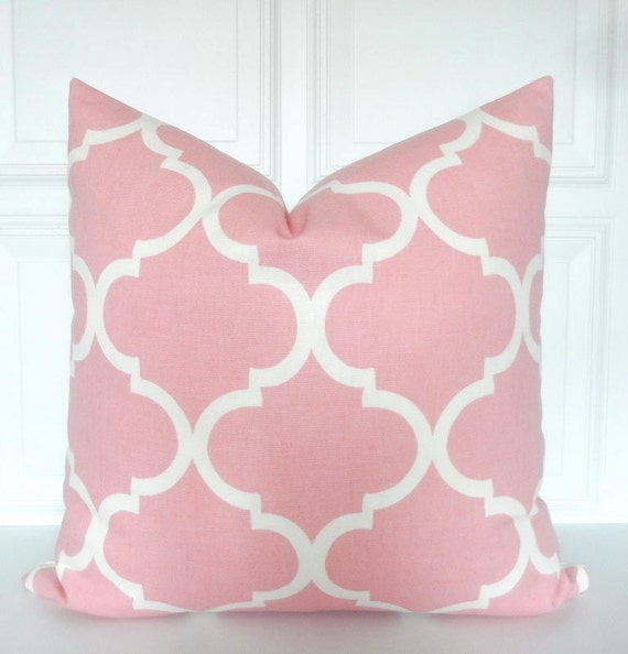 Blush Pink Decorative Pillows : Blush Pink Pillow Cover Decorative Pillow by Pookadellas on Etsy