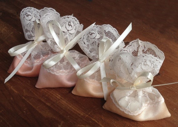 Italian Wedding Gifts: Jordan Almond Favor Bag Lace Favor Bag Italian Wedding