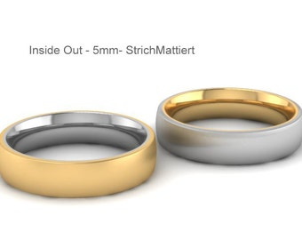 Weddingring- Design2100-Inside Out-Modern Weddingring-Innovative Design