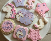 Magical Unicorn Cookies / One Dozen