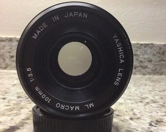 Yashica 100mm macro F3.5