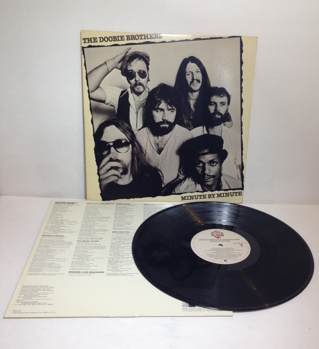 Doobie Brothers Minute By Minute Vintage Vinyl Record Album Lp