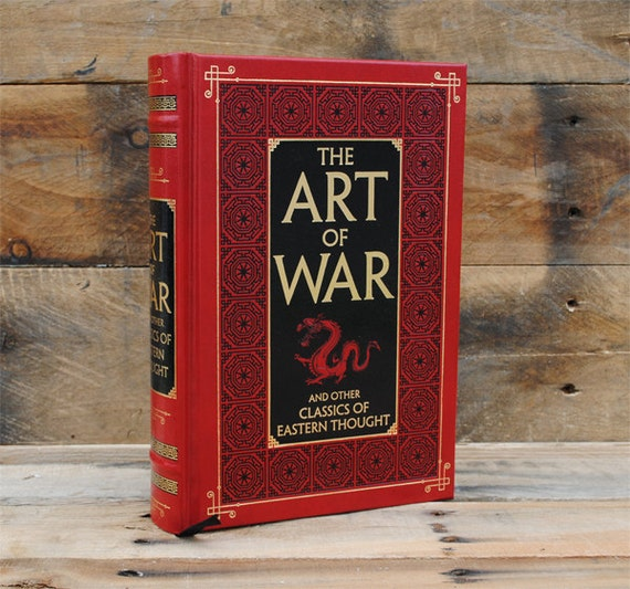 Hollow Book Safe - The Art of War - Leather Bound