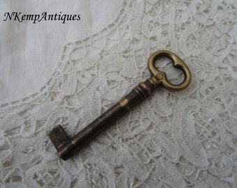 Old metal key