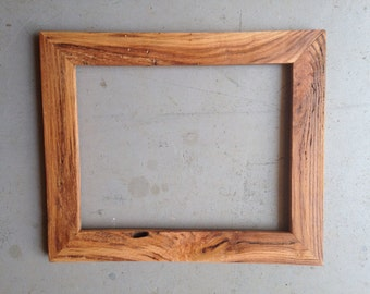 Custom 11x14 Oak Wood Picture Frame